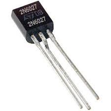 2N6027 TO-92 PUTs UJT 40 VOLTS 300 mW Mã: 2N6027 Kiểu chân: TO-92 Hàng tương đương: 2N6028 Tag: Programmable Unijunction Transistor Programmable Unijunction Transistor Triggers