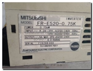 MISUBISHI FR-E520-0.75K-2