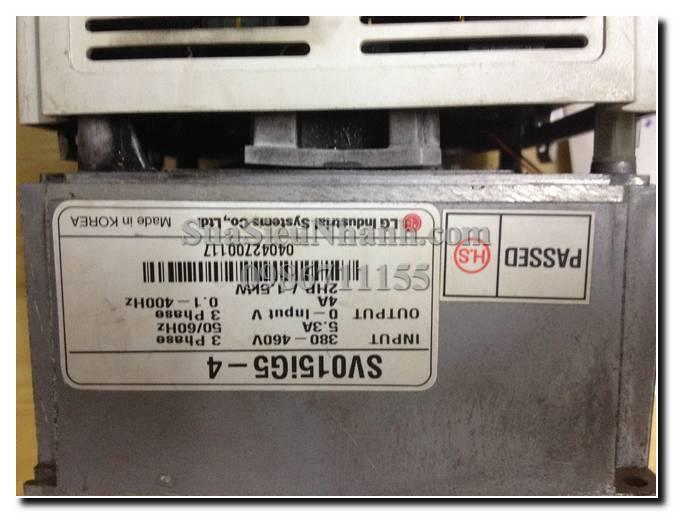 Sửa biến tần LS (LG) SV015IG5-4 1.5KW