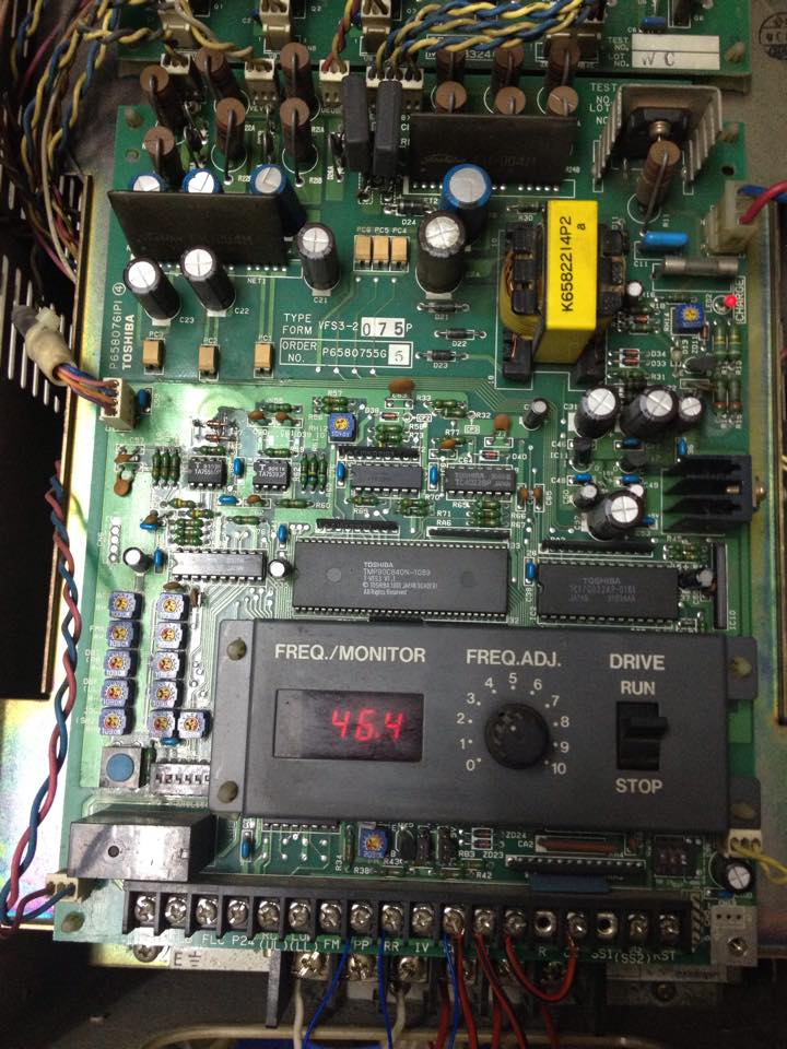 Sửa biến tần TOSHIBA VF-S3 VFS3-2075P 7.5KW