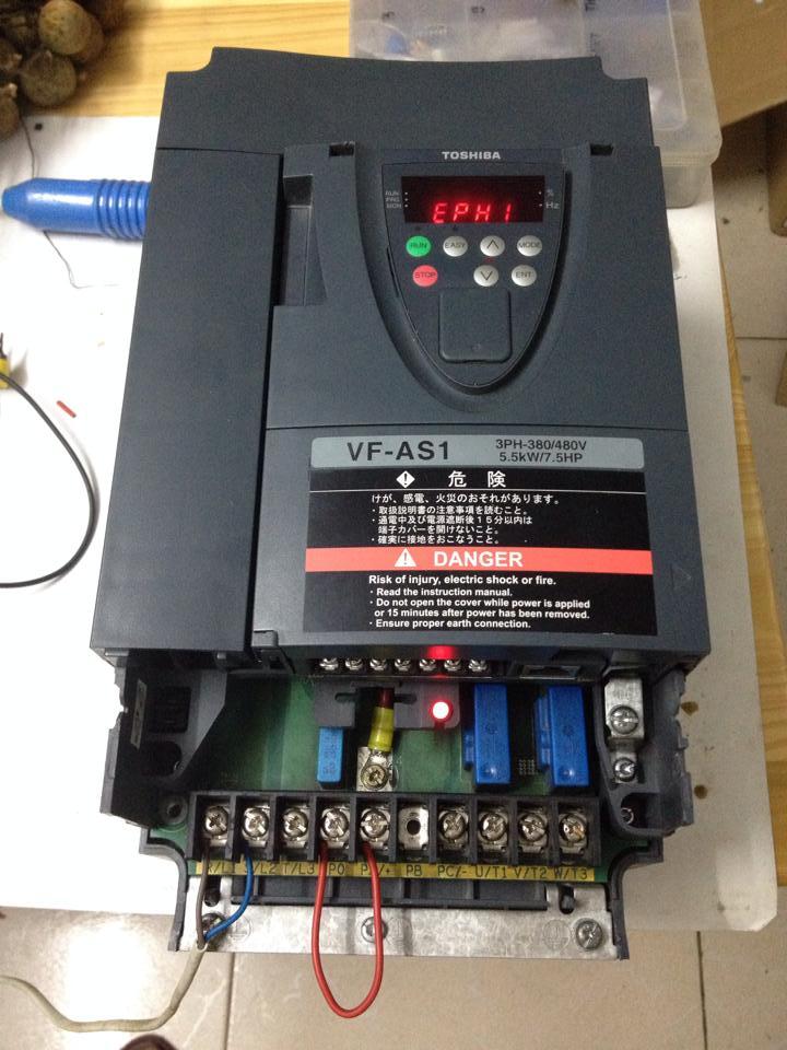 Sửa biến tần TOSHIBA VF-AS1 VFAS1-4055PL 5.5KW