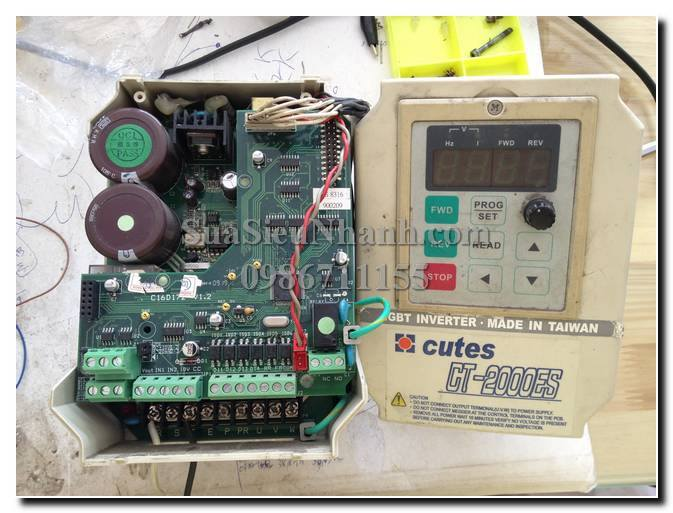 Sửa biến tần Cutes CT-2000ES CT-2004ES-A75 0.75KW