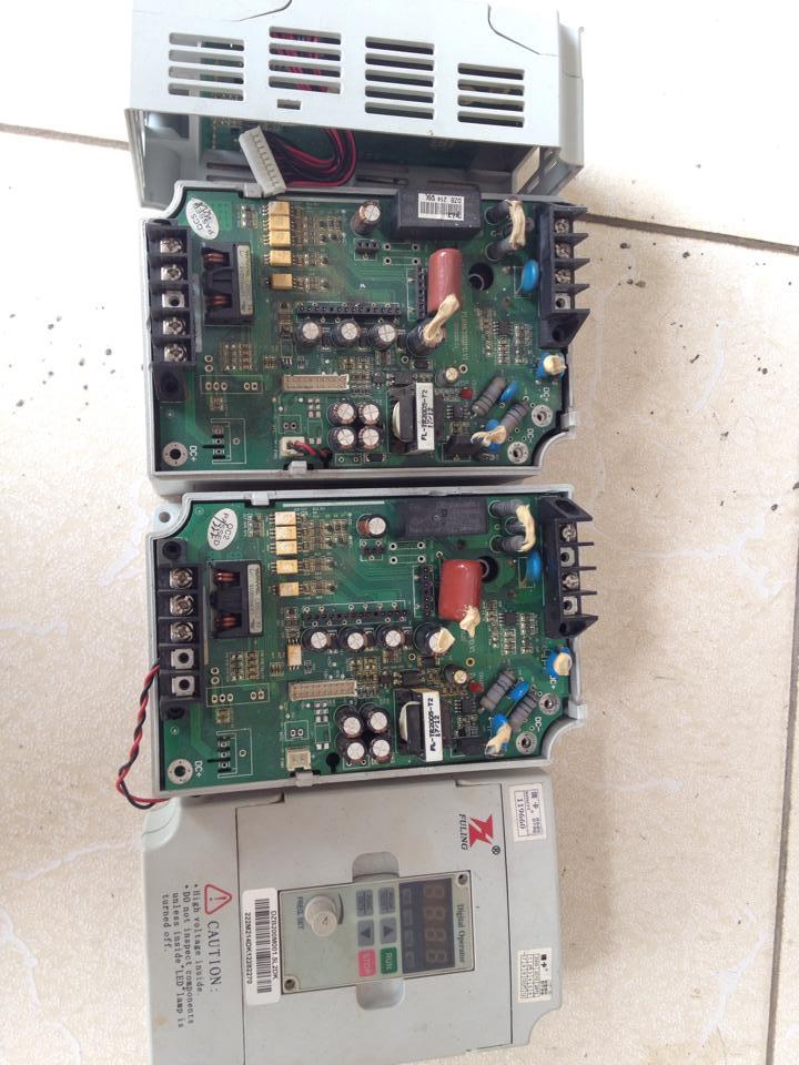 Sửa biến tần FULING DZB200M001.5L2DK