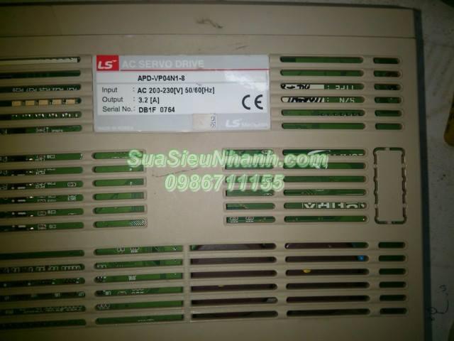 Sửa AC SERVO DRIVER LS APD-VP04N1-8