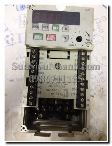 Sửa biến tần MISUBISHI FR-E520-0.75K 0.75KW
