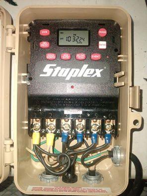 Sửa Bộ điều khiển thiết bị theo thời gian. Model DTM-2 Staplex. Made in USA