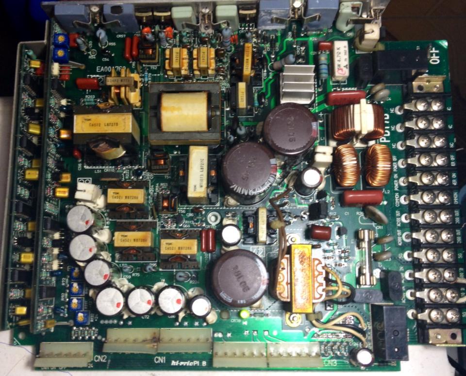 Sửa nguồn máy CNC HITACHI NK 20