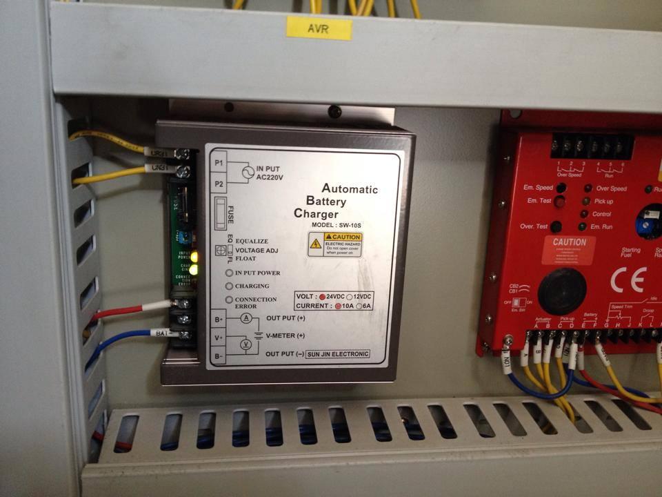 Sửa bộ kích từ máy phát điện (sửa AVR) AVR FC1/125Vdc