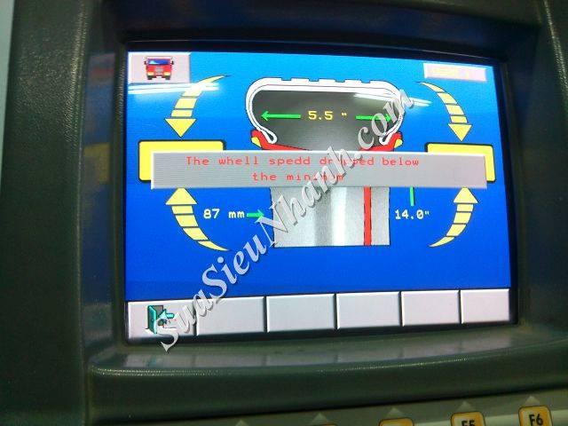 Sửa Máy Cân Bằng Lốp Ô Tô Tự Động SICAM S3M V950