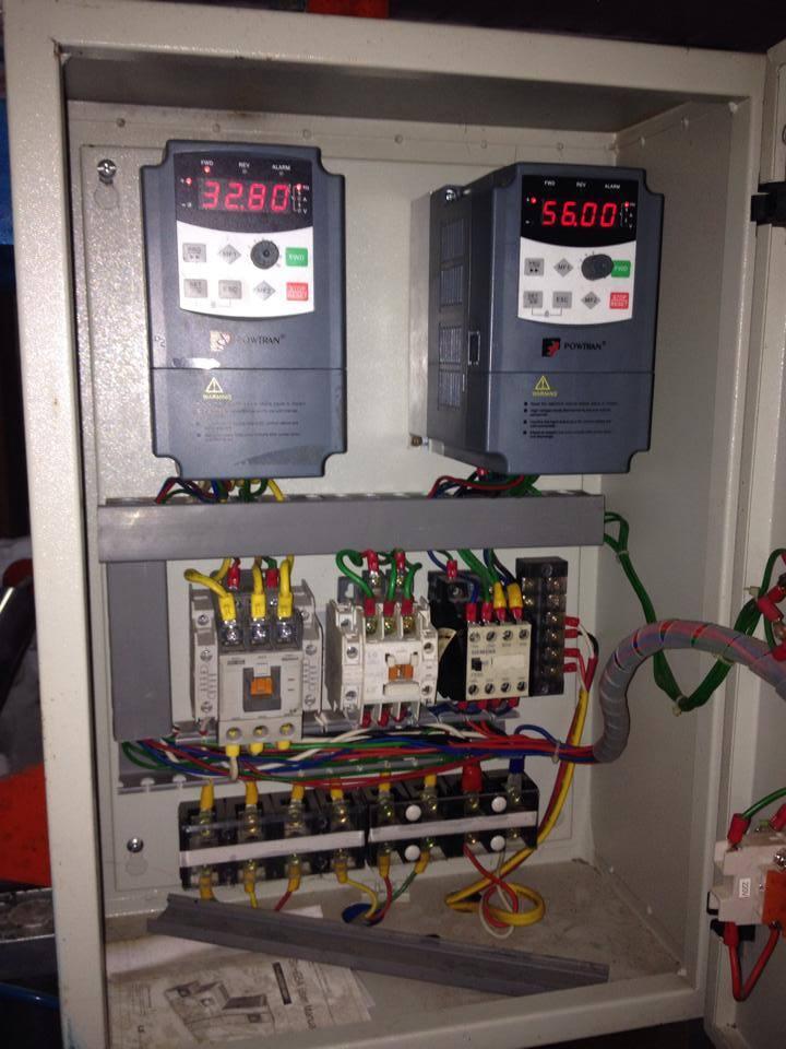 Sửa biến tần POWERTRAN 0.75KW