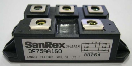Module IGBT SANREX DF75AA160 120 DF50AA160 120 DF30AC160