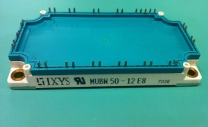 Module IGBT IXYS MUBW50-12E8 MUBW75-12E8