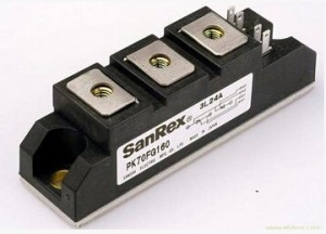 Module IGBT SANREX PK25F-40 PK25F-80 PK25F-120 PK25F-160