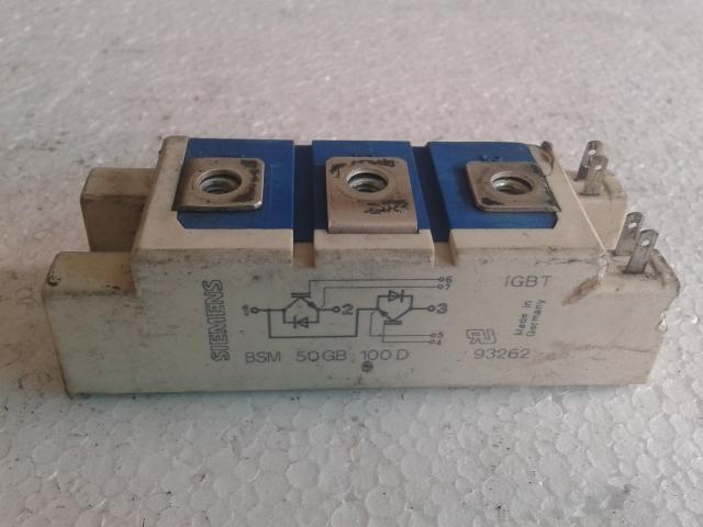Module IGBT SIEMENS SKM50GB101D SKM75GB101D SKM75GB121D SKM50GB121D