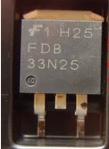 Mosfet FDB33N25 Kênh N 33A/250V