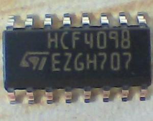 HCF4098 IC số