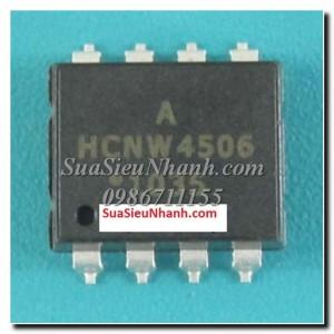HCNW4506, HCPL-4506 Photocoupler opto cách ly quang; Kiểu chân: dán SOP-8; Tag: HCNW4506, HCPL-4506, J456, 0466 Intelligent Power Module and Gate Drive Interface Optocouplers, Photocoupler opto cách ly quang;