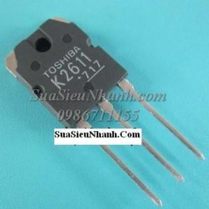 Tên: 2SK2611 K2611 TO3P MOSFET 9A 900V Hãng SX: TOSHIBA Model: K2611 Dùng Cho: Hàng tham khảo: Công Suất: Dòng điện: 9A Điện áp: 900V Kiểu chân: 3 chân cắm TO-3P Datasheet: Tình Trạng: Hàng mới Tag: K2611, 2SK2611 N MOSFET 9A/900V