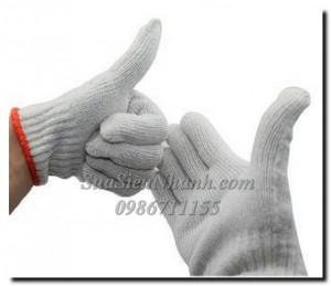Găng tay len, Găng tay sợi