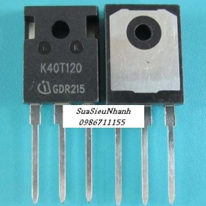 K40T120, IKW40T120 IGBT 40A 1200V TO-3P