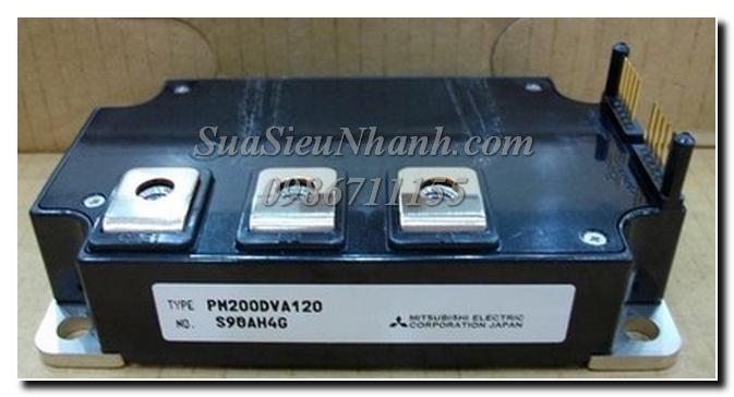 PM200DVA120, PM200DV1A120 IGBT Mitsubishi 200A 1200V