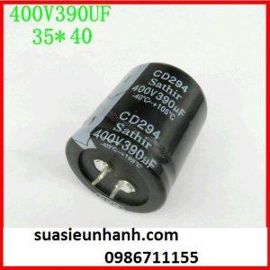 390uF 400V