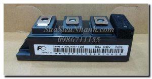2MBI100U4A-120 - IGBT Fuji  Hãng sản xuất : Fuji  Mã sản phẩm:2MBI100U4A-120  Xuất Xứ : Nhật Bản  Hình thức: Cũ  Tình trạng: còn hàng