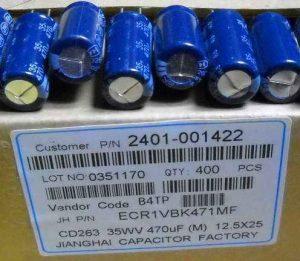 470uF 35V 12.5x25mm