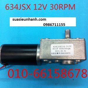 634JSX 12V 30RPM