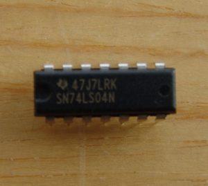 sn74ls04n