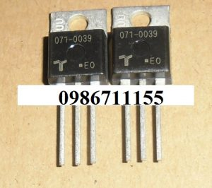 071-0039 SCR Transistor