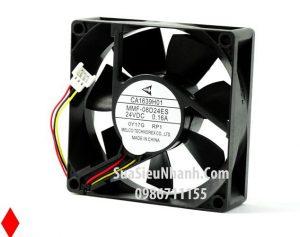 Tên hàng: MMF-08D24ES Quạt tản nhiệt 3 dây MELCO 24V 0.16A 8025 80x80x25mm cũ; Mã: MMF-08D24ES_OLD Hãng SX: MELCO; Dùng cho: Vật tư biến tần;