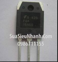 Tên hàng: 16N50E TO247 N MOSFET 16A 500V 240mOhm (TM);  Mã: 16N50E_OLD;  Hãng sx: FUJI;  Kiểu chân: cắm TO-247;  Hàng tương đương: FMC16N50ES, FMH16N50ES, IRFP460A, IRFP460LC
