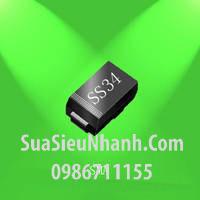 Tên hàng: 1N5822 SS34 SMA Diode dán;  Mã: 1N5822_SS34;