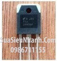 Tên hàng: 28N50 FMH28N50ES FQA28N50 N MOSFET 28A 500V (TM);  Kiểu chân: cắm TO-3P;  Hãng sx: TOSHIBA;  Mã:28N50  Dùng cho: Vật tư máy hàn
