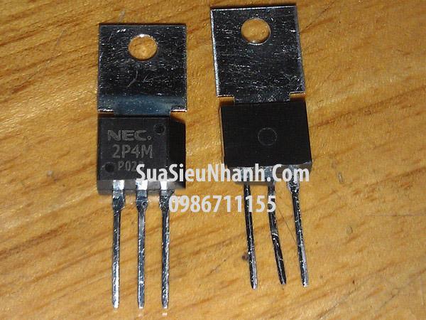 Tên hàng : 2P4M Thyristor 2A 500V; Mã hàng : 2P4M; Kiểu chân: cắm TO-202; Hãng sx: NEC;
