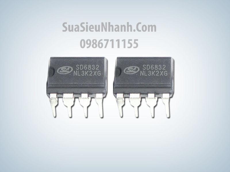 SD6832 IC Nguồn Switching; Kiểu chân: cắm DIP-8