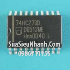 Tên hàng: 74HC273D SOP20 7.2mm IC số Flip Flop D-Type;  Mã: 74HC273D_SOP20_7.2mm;  Hãng sx: NXP;  Kiểu chân: dán 74HC273D 7.2mm