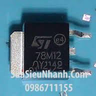 Tên hàng: L78M12 L78M12CDT 78M12 TO-252 IC nguồn ổn áp 12V 0.5A;  Mã: L78M12;  Kiểu chân: cắm TO-252;  Thương hiệu: ST;  Phân nhóm: IC nguồn