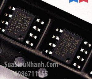 Tên hàng: Trickle-Charge Timekeeping ChipDS1302 DS1302Z IC chức năng Real Time Clock;  kiểu chân: dán SOP-8;  Hãng sx: Maxim