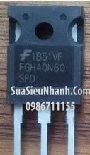 Tên hàng: FGH40N60 FGH40N60SFD 40N60 IGBT 40A 600V TO-247 (2);  Mã hàng: FGH40N60_2;  Kiểu chân: cắm TO-247;  Hãng sx: F;  Dùng cho: Vật tư biến tần, vật tư bếp tử, vật tư servo; vật tư máy hàn