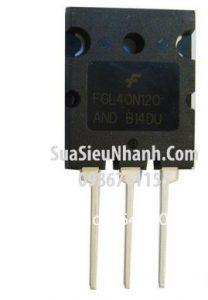 Tên hàng: FGL40N120 AND TO3P IGBT 40A 1200V (TM);  Mã: FGL40N120AND_OLD;  Hãng sx: Faichild;  Kiểu chân: cắm TO-3P;  Hàng tương đương: FGH40N60