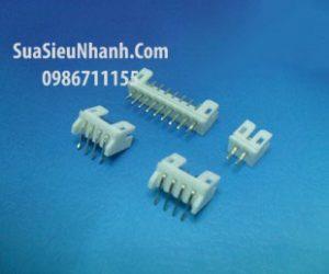 Tên hàng: Box header đực 12x1 loại 2.54, chân thẳng;  Mã: H12x1BH-MS;  Hàng tương đương: XH2.54-12P