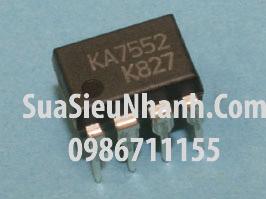 Tên hàng: KA7552 IC nguồn;  kiểu chân: cắm DIP-8;  Mã hàng: KA7552;  Dùng cho: vật tư máy in;