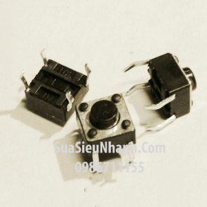 Tên hàng: Nút bấm 6x6x5mm;  Kiểu chân: cắm 4pin;  Mã: KEYPAD6x6x5