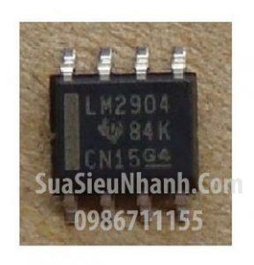 Tên hàng: LM2904 LM2904DR IC thuật toán;  kiểu chân: SOP-8;  hãng sx: TI;  Dùng cho: vật tư PLC;  vật tư biến tần, vật tư servo;