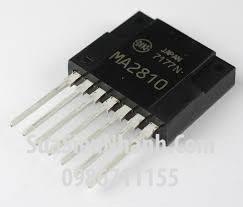 Tên hàng: MA2810 IC Nguồn; Mã: MA2810_ZIP-7; Kiểu chân: ZIP-7; Hãng sx: Mitsubishi; Dùng cho: vật tư biến tần, vật tư servo driver; vật tư PLC