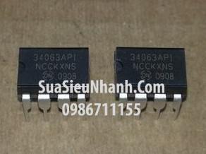 Tên hàng: 34063API MC34063API MC34063AP1 IC Nguồn;  Kiểu chân: cắm DIP-8;  hãng sx: ON;
