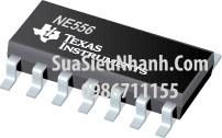 Tên hàng: NE556 NE556DR NE556DT IC chức năng timer;  kiểu chân: dán SOP-14;
