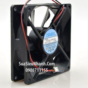 Tên hàng: 3610KL-05W-B50 Quạt tản nhiệt 2 dây NMB 9025 24V 0.2A 92x92x25mm; Mã hàng: 3610KL-05W-B50; Hãng SX: NMB; Dùng cho: Vật tư biến tần